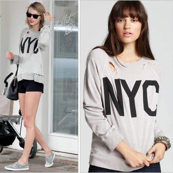Wildfox Tops - Wildfox NYC Distressed Top ASO Taylor Swift, Small